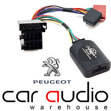 Peugeot 206 1998-2002 CLARION Car Stereo Radio Steering Wheel Interface