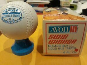 Vintage 1970's baseball shape hair gel with box