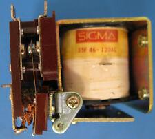 SIGMA RELAY 55F46-120AC 4PDT 15AMP