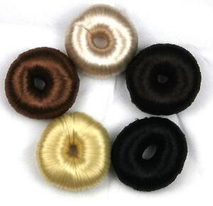 Postizo-Densificador-Cabello-Mono-Pelo-Almohada-de-Mono-Hochstecken-Peinado-Dutt