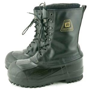 LaCrosse Mens 7 Snow Boots Steel Toe