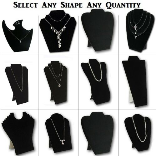 LOT OF 1~7~12 NECKLACE EASELS JEWELRY NECKLACE DISPLAYS EARRING DISPLAY STANDS