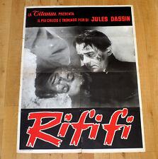 RIFIFI manifesto poster affiche Jules Dassin Du Rififi chez les hommes