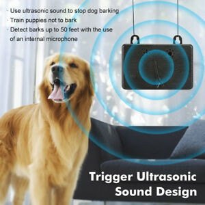 Details about Anti Barking Device Ultrasonic Dog Bark Control Sonic  Deterrents Silencer Tools