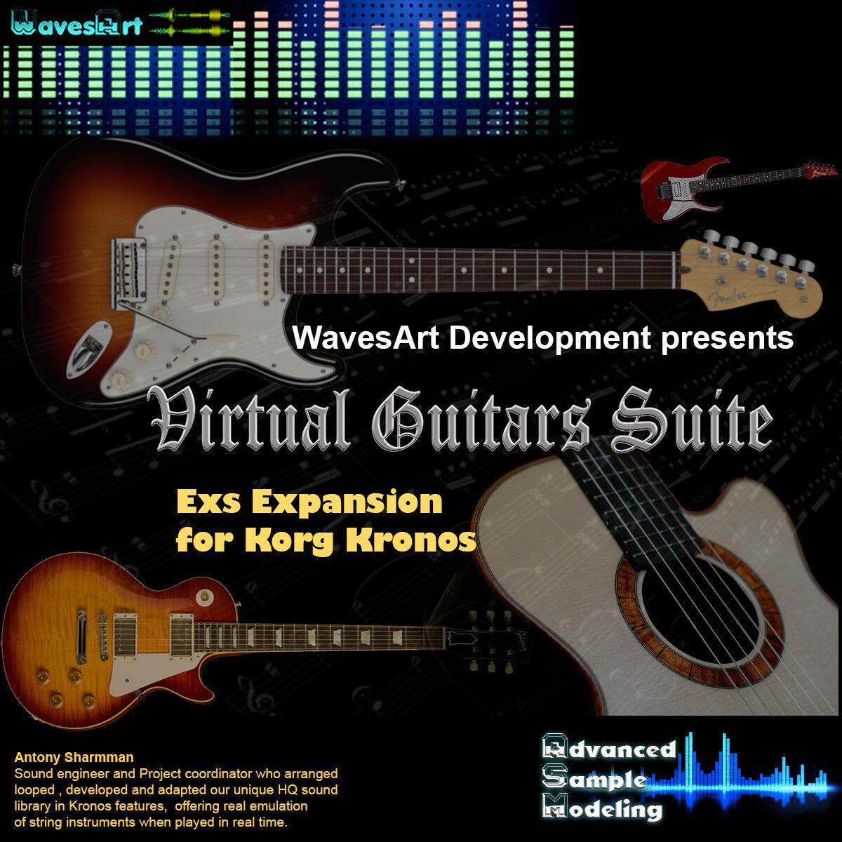 Korg Kronos EXs Sound Library Guitars Suite