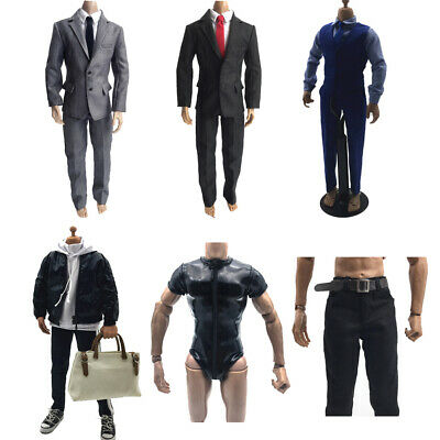 "Costume 1//6 Scale Pants Clothes Accessories Fit 12/"" Action Figure Body Toys"