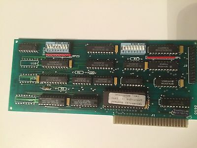 Sequential Systems QPII-0490C  RARE VINTAGE Apple II SS Printer Card