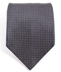 8662c7dbc65e Burberry Tie - Polka Dots - Black - Pure Silk - Made in England | eBay
