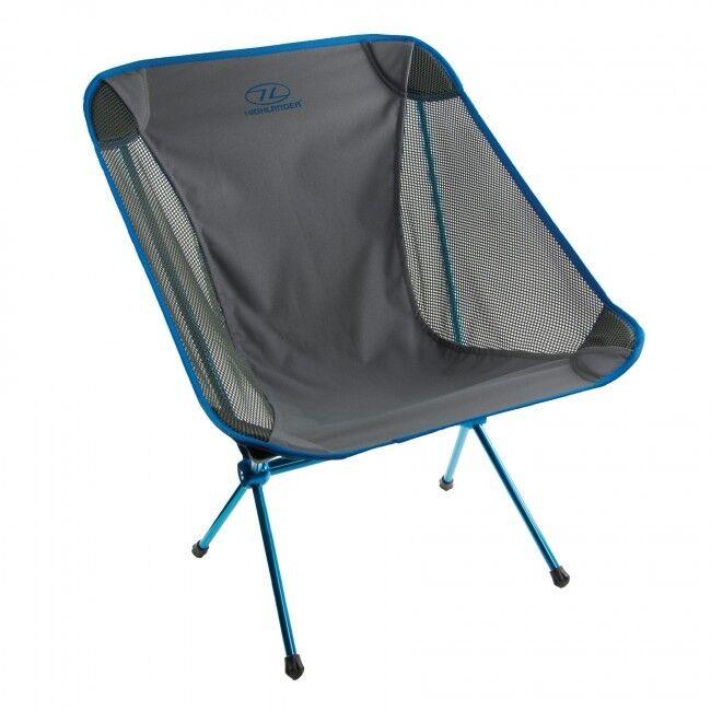 Menos uno Azul Acampar al aire libre Silla de silla
