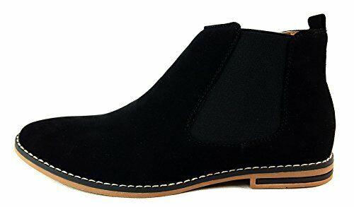 rockport chukka boots black
