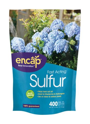 2.5 Lb Encap 11607-6 Fast Acting Soil Acidifier Sulfur