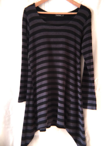 Hemp Black Small amp; Cotton Danes grey Tunic Fab Two Top Heather 0wqYOaU
