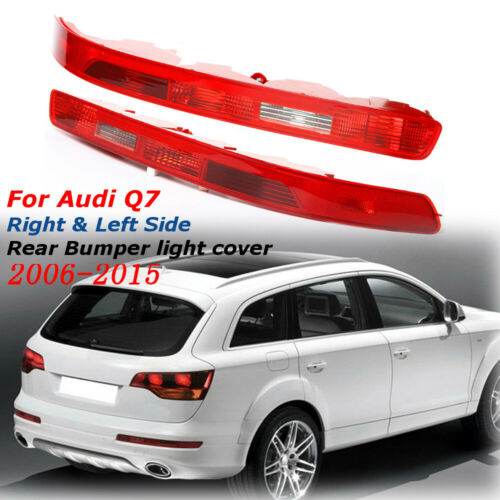 Rear Left+Right Lower Bumper Tail Light Reverse Stop Fog Lamp For Audi Q7 06-15