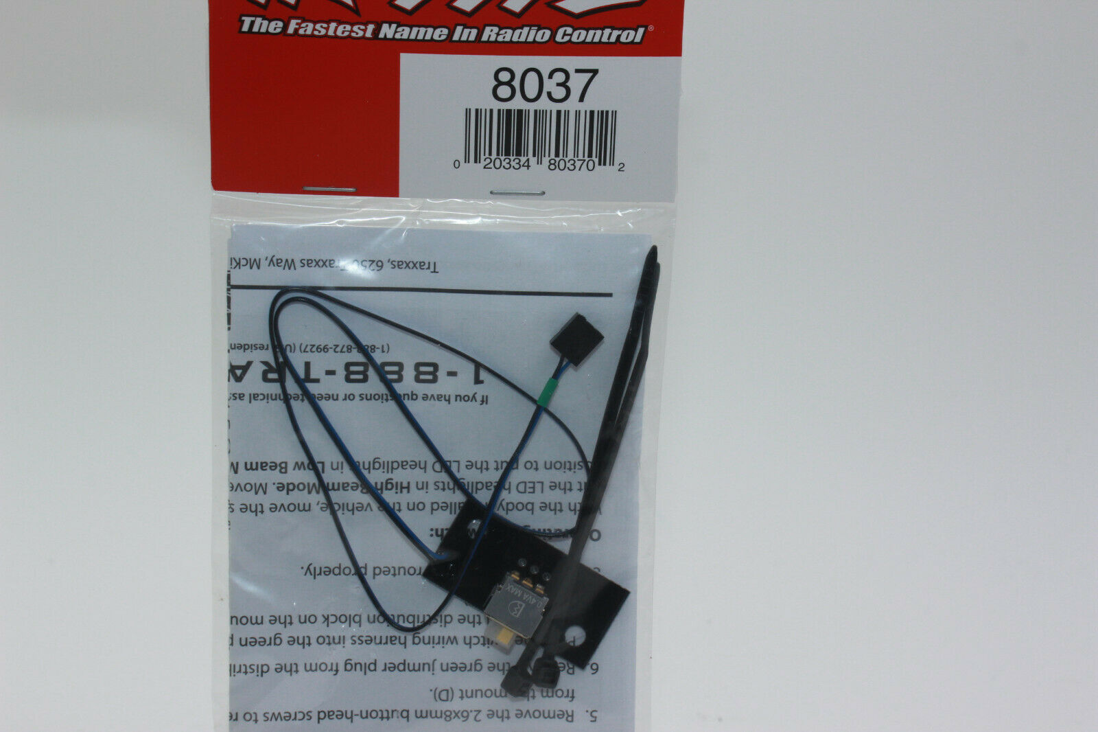 ... Traxxas LED Licht High Low Schalter für TRX8035 oder TRX8036 TRX8037 TRX-4