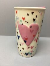 Collectible Ceramic Double Wall Starbucks Philadelphia State Travel Tumbler NEW