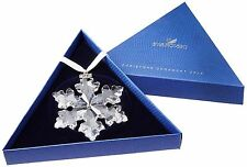 2016 SWAROVSKI CRYSTAL CHRISTMAS LARGE SNOWFLAKE ORNAMENT ANNUAL EDITION