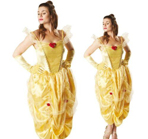Belle Disney Princess Costume Fancy Dress Adult Rubie/'s Beauty /& The Beast