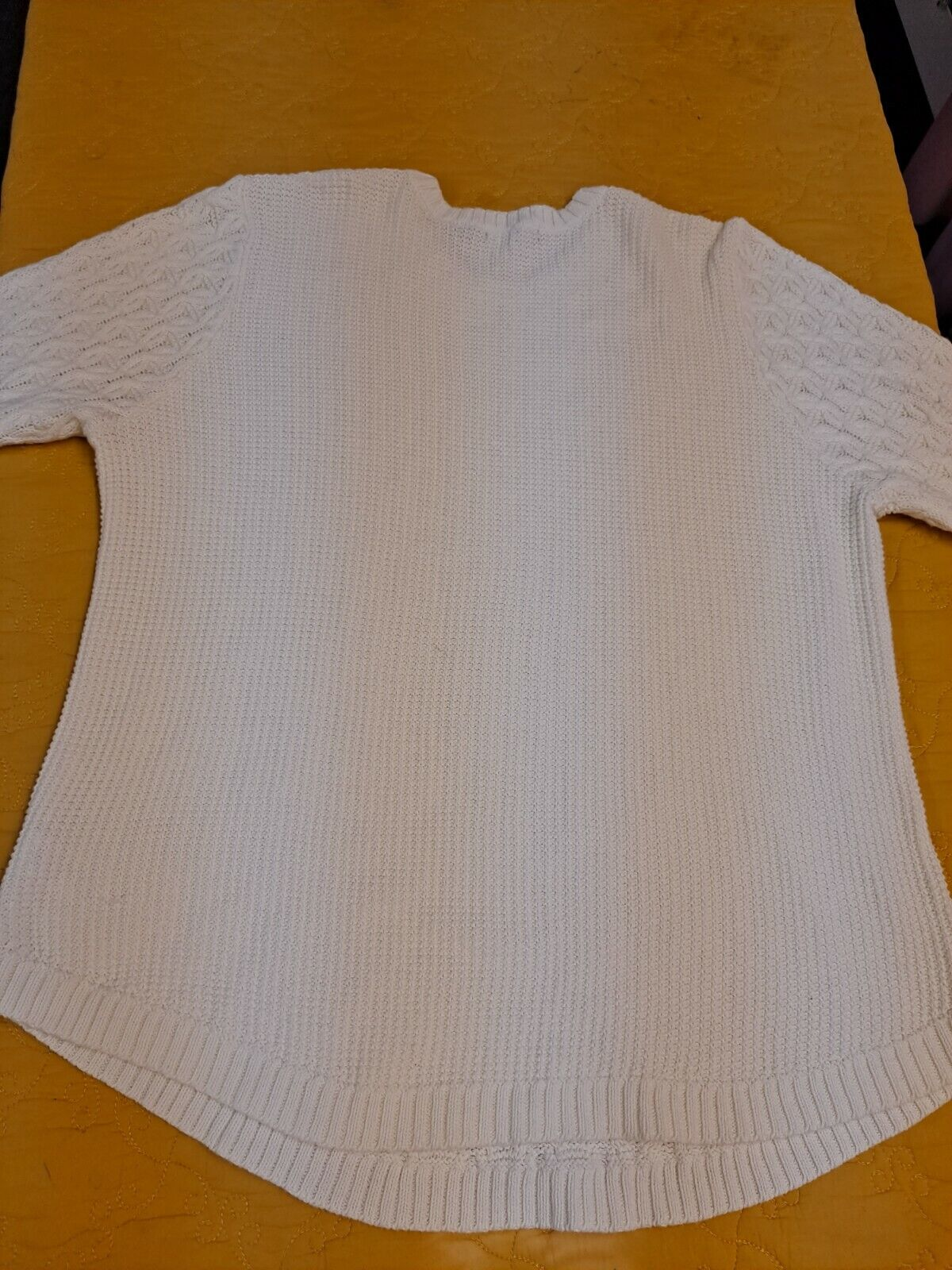 Women's Textured Knit Sweater Cable Knit Pullover… - image 6