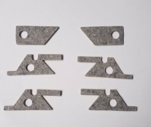 Bridgeport Saddle /& Knee Felt Way Wiper Kit PN 1106-2405//6