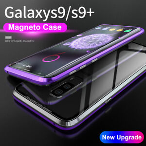 magnetic metal bumper handyh lle cover f r samsung galaxy. Black Bedroom Furniture Sets. Home Design Ideas