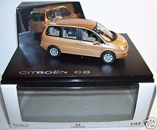 NOREV CITROEN C8 ALLONGE BRONZE METAL REF 159204 1/43 IN BOX