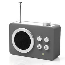Lexon LA69G13 Mini Dolmen - Design AM/FM Radio mit Audioeingang für MP3 Player