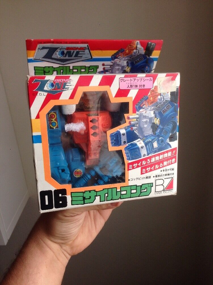 Robot Vintage Bionic Zone fatto In Japan CIB Rare