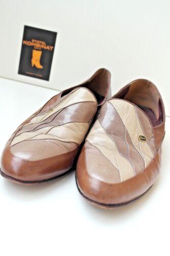 Mallorca Loafer Uk True Slipper Halbschuhe Vintage Leder Bijoux Schuhe Herren 7UWRUn