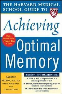 NEW - Harvard Medical School Guide to Achieving Optimal Memory 2