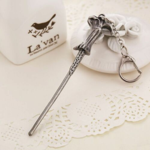 HARRY POTTER WAND KEYRING HERMIONE DUMBLEDORE LORD VOLDEMORT