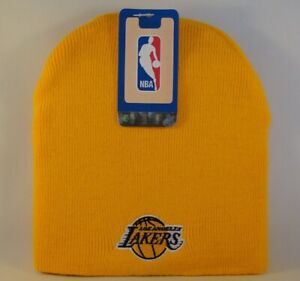 Los-Angeles-Lakers-NBA-Knit-Hat-Beanie-Gold
