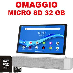 "TABLET 10.3"" IPS FHD M10 ALEXA INTEGRATO RAM 4GB MEM.INT.128GB WIFI LENOVO BL..."