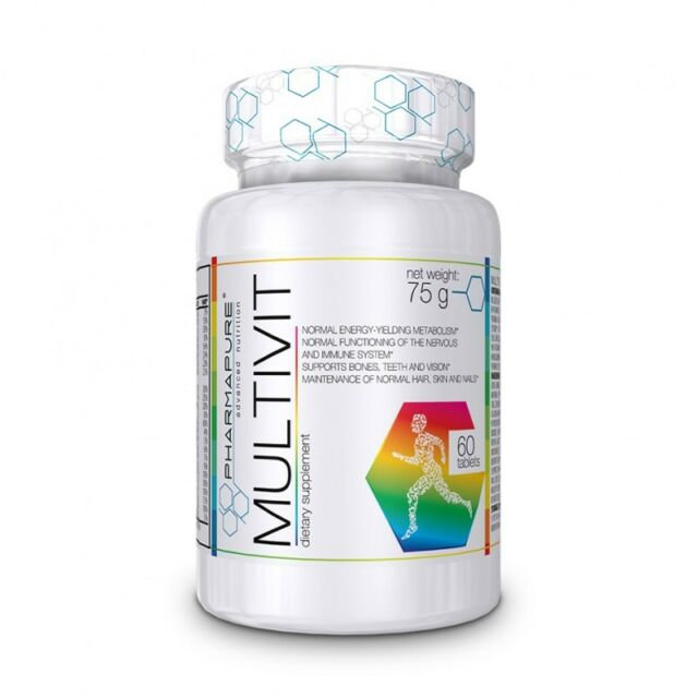 Vitamine Multivitaminico e Minerali Pharmapure Multivit 60 Compresse