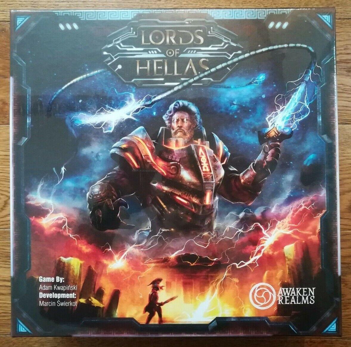 venta directa de fábrica Lords Lords Lords Of Hellas - Brand New & Sealed (English version) Awaken Realms board Juego  punto de venta