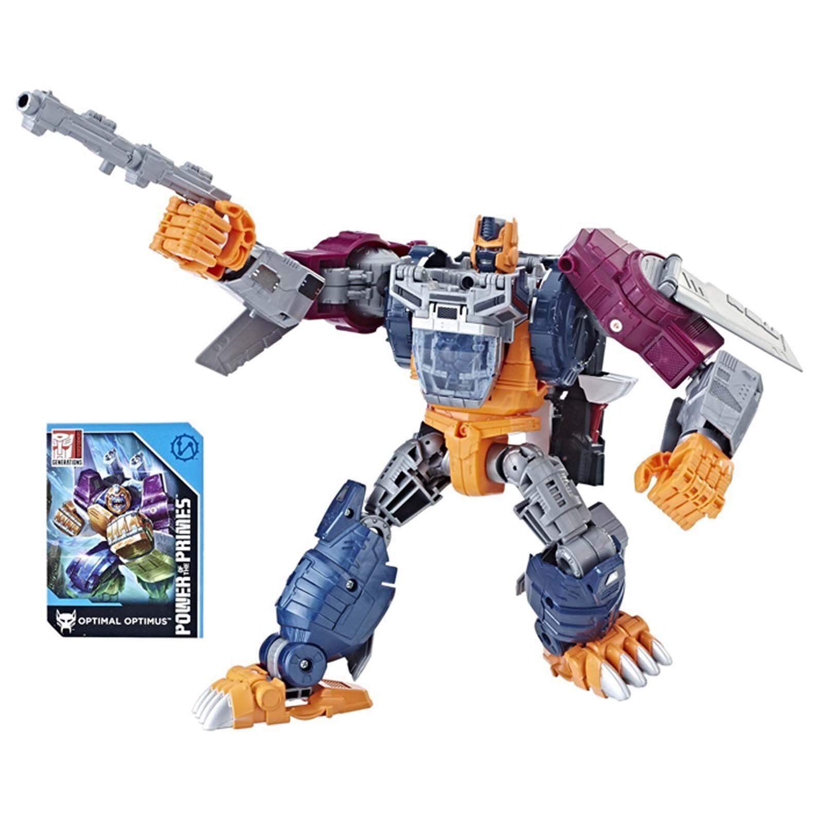 Power of the Primes POTP Leader Evolution Optimal Optimus Transformers Gift NEW