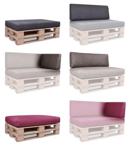 Tavolozze Cuscino Set per EURO PALLET IN-OUTDOOR DIVANO-paesaggio tavolozze imbottitura Per il giardino