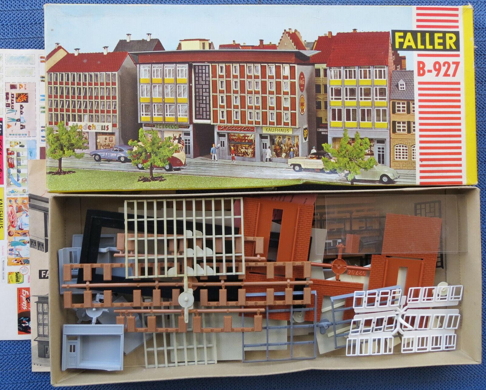 Faller Ams B-927 Blocco Appartamenti   Casa D'Affari, 60er Jahre