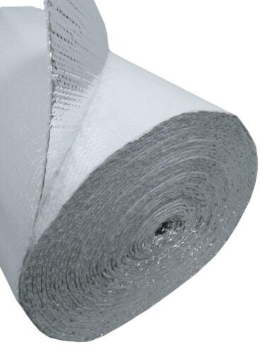 "USEP 36/"" x 25/' Double Bubble White Reflective Foil Insulation R8 75sqft"