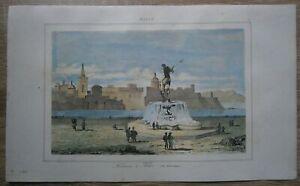 1848-print-MALTA-FOUNTAIN-IN-BIRGU-CITTA-VITTORIOSA-17