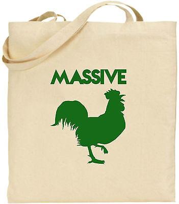 Massive Hahn Groß Baumwolltasche Einkaufstasche Geschenk Weihnachten Cool Tiere