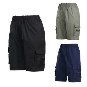 Men/'s Summer Shorts Sports Work Casual Army Combat Cargo Shorts Pants Trousers