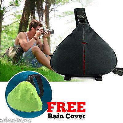 Waterproof SLR DSLR Camera Shoulder Carry Case Bag For Sony Nikon