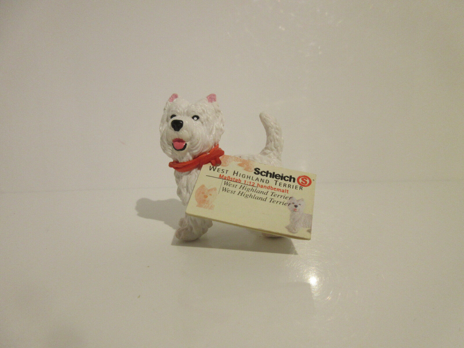 16315 Schleich Dog: West Highland Terrier booklet ref:21P16