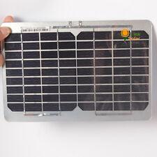 DIY 5W 18V  Aluminum Solar Panel for Folding bag