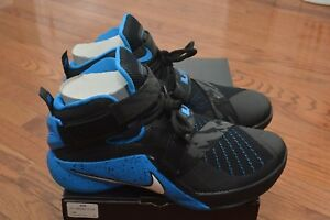 sale retailer fd4c3 f603e Image is loading Lebron-Soldier-IX-PRM-Nike-Zoom-Basketball-Shoes-