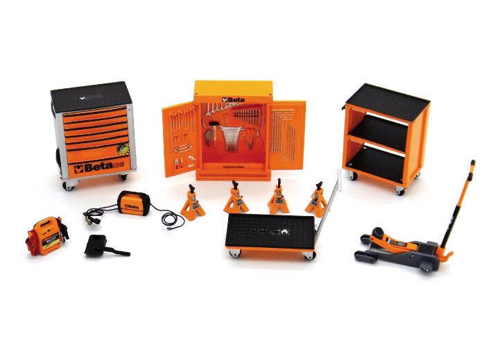 Outils Beta Garage Miniature Modèle Set 1 43 scale for mini Atelier Kit
