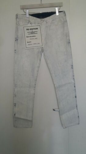 Nwt 32 And Painted Maison Margiela Eur M For H Waist Jeans Martin pfAq4xp