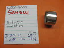 SANSUI QRX-3000 QUAD STEREO RECEIVER SELECTOR FUNCTION KNOB