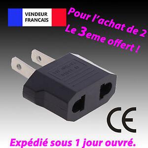 Adaptateur-prise-France-EU-Europe-vers-US-USA-voyage-secteur-Eur-FR-Chine