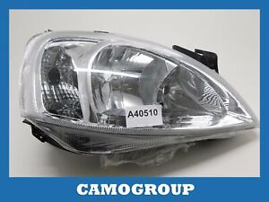 Front Headlight Right Front Right Headlight Depo For OPEL Corsa